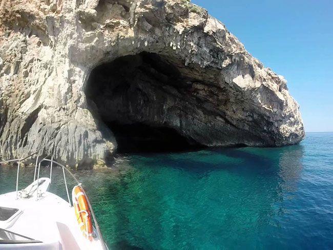 buceo cueva creta