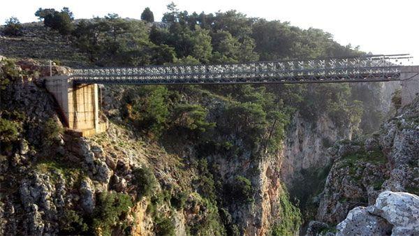 puente aradena sfakia