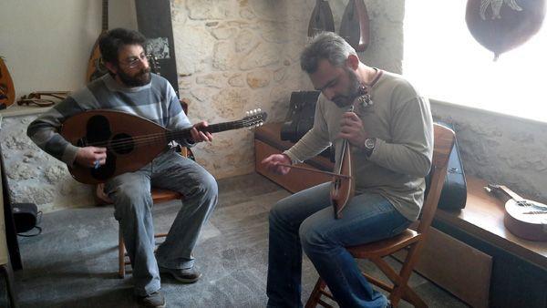 creta 2016 semana santa musica lutier rethimno