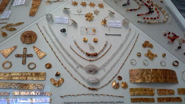 joyas museo arqueologico heraklio