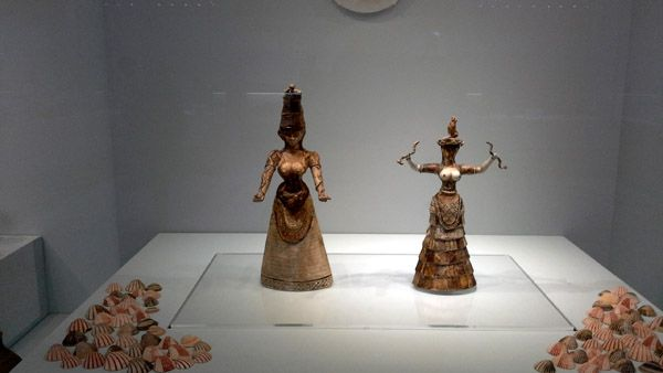 esculturas minoicas