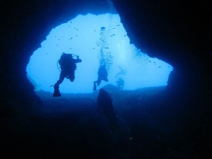 buceo cueva elefantes