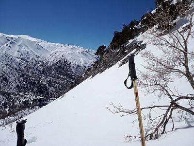 montañas blancas invierno 2019